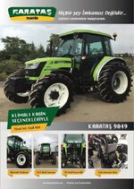 Karatas 9049 MFWD brochure (green) - 2018