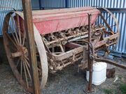 Massey-Harris seed drill (combination type)