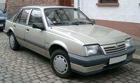Opel Ascona front 20080121