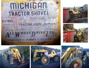 A 1970s AWD Michigan Loader 35A 4WD