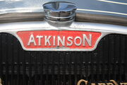 Atkinson radiator top and badge - IMG 6087