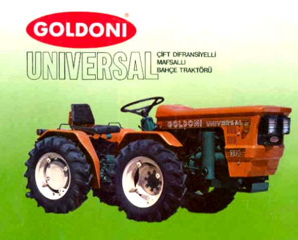 Goldoni Universal 214 | Tractor & Construction Plant Wiki | FANDOM powered by Wikia