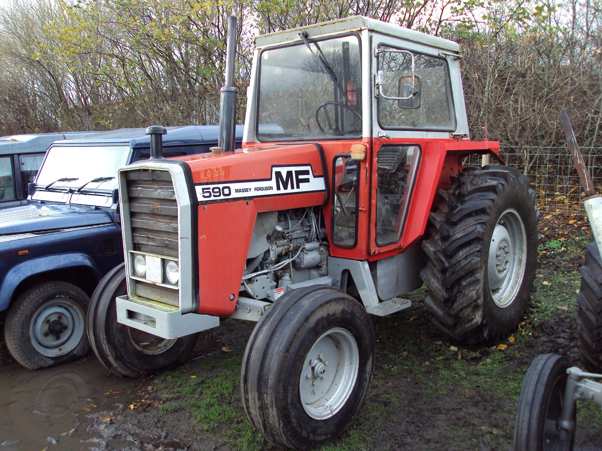 Massey Ferguson 500 series | Tractor & Construction Plant
