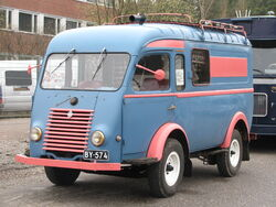 Renault van Lahti
