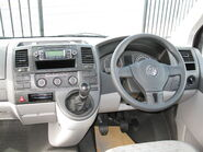 Volkswagen Transporter 2010MY (interior view)