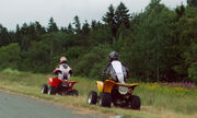 All-terrain vehicle Quad. New Brunswick 2008 7575