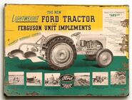 Ford-Ferguson plow ad