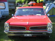 Red Pontiac at Power Big Meet 2005
