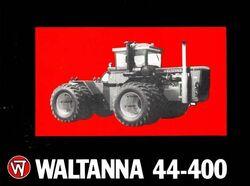 Waltanna 44-400 4WD b&w brochure