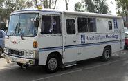 Australian Hearing bus - Hino AC (Front view)