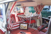 Bedford CA Dormobile Romany (interior) - 15 WKE at Riverside 2011 -IMG 8885