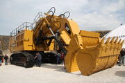 Caterpillar 6030FS at Hillhead 2012 - IMG 1011