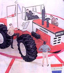 Cockshutt 2655 4WD brochure (White)