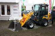 Gehl 540 wheel loader at LAMMA 2013 IMG 6309