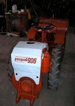 Pasquali 906 MFWD (red & creme)