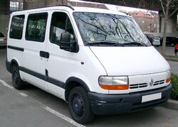 Renault Master front 20080326