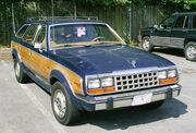 AMC Eagle Wagon blue wood grain 258 cid 5-speed