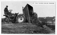 A 1930s Aveling-Barford Sitedumper