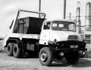 A 1960s AWD Ford Trader 6X6 Diesel