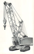 A 1970s Smith C4046 Crawlercrane Diesel