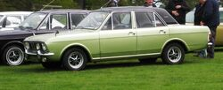 Ford Cortina 1600E 1599cc Oct 1970