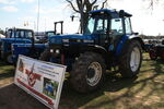 New Holland 7840 on Blue Force stand at Norwich 2012 IMG 5890