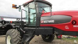 Westward M150 swather (MacDon) - 2011