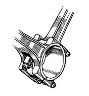 Forked connecting rods (Autocar Handbook, 13th ed, 1935)
