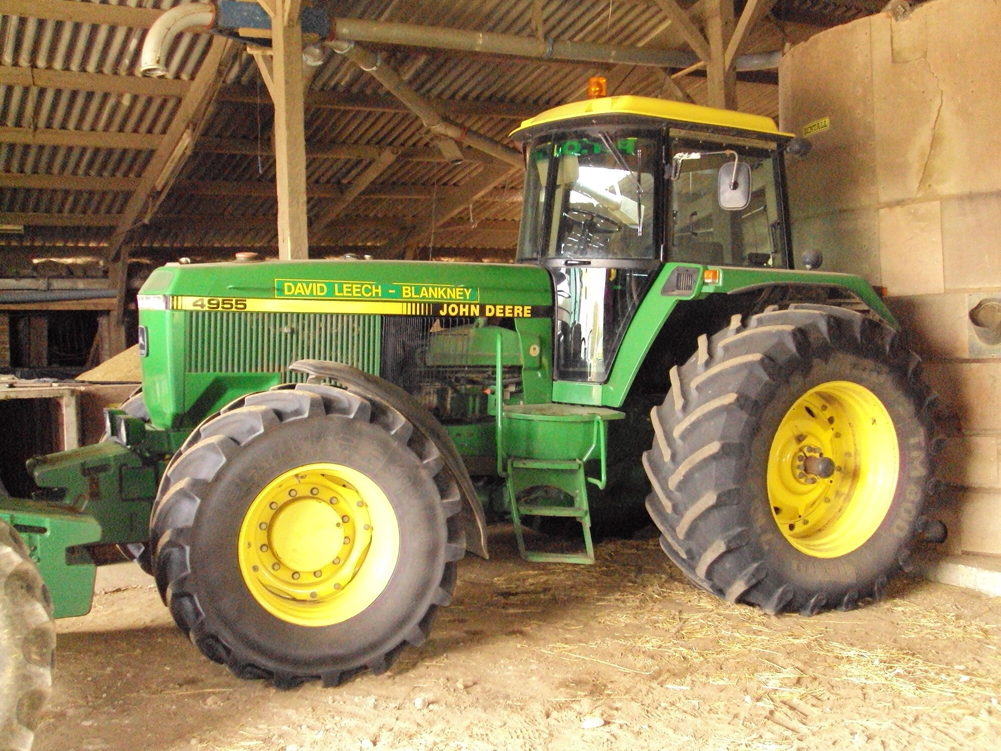 John Deere 4955 | Tractor & Construction Plant Wiki | FANDOM powered by  Wikia