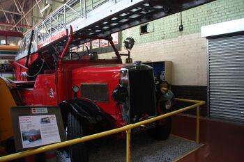 Leyland Merryweather fire engine BRJ 333 at MMofT 09 - IMG 6480