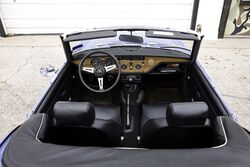 Spitfire 1500 Interior