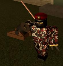 Red Mortar 3