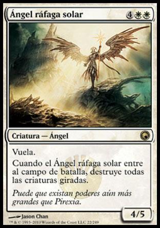 Ángel ráfaga solar (Magic)