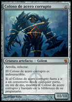 Coloso de acero corrupto (Magic)