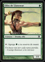 Elfos de Llanowar (Magic)