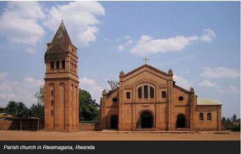 Parish church in Rwanda 20180623