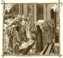 Pontyfikal erazma ciolka koronacja