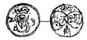Denar lobzenicki 1622-1624