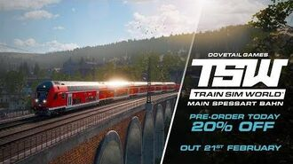 Train Sim World Main-Spessart Bahn OUT NOW