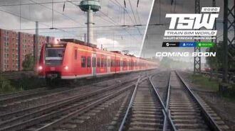 Train Sim World Hauptstrecke Rhein-Ruhr Duisburg - Bochum Coming Soon
