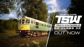 Train Sim World Class 33 - AVAILABLE NOW