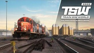 Train Sim World Canadian National Oakville Subdivision Hamilton - Oakville Coming Soon