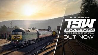Train Sim World West Somerset Railway - COMING SOON