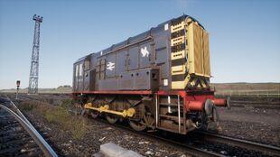 Rail Blue Thornaby