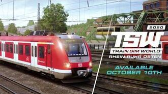 Train Sim World 2020 Rhein-Ruhr Osten - Coming October 10th!