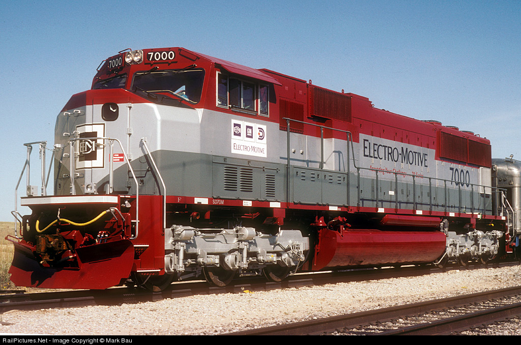 EMD SD70M | Trains And Locomotives Wiki | Fandom