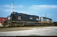IC SD40A and WC SD40-2