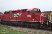 CP 6408 SD40A
