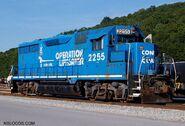 Conrail Operation Lifesaver GP35