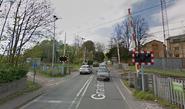 British 4-Quadrant Gate Crossing, Graham's Road, Cambridge, UK